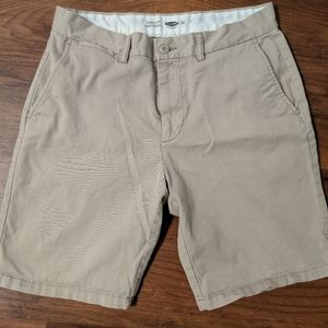 Old Navy Khaki Ultimate Slim Khaki Shorts